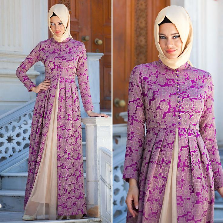 EVENING DRESS - EVENING DRESS - 2229MOR #hijab #naylavip #hijabi #hijabfashion #hijabstyle #hijabpress #muslimabaya #islamiccoat #scarf #fashion #turkishdress #clothing #eveningdresses #dailydresses #tunic #vest #skirt #hijabtrends