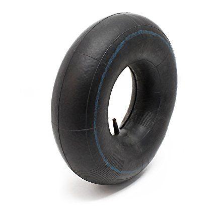 Chambre à air pour pneu de tracteur à pelouse 15x6.00-6 avec valve droite roue tondeuse à gazon