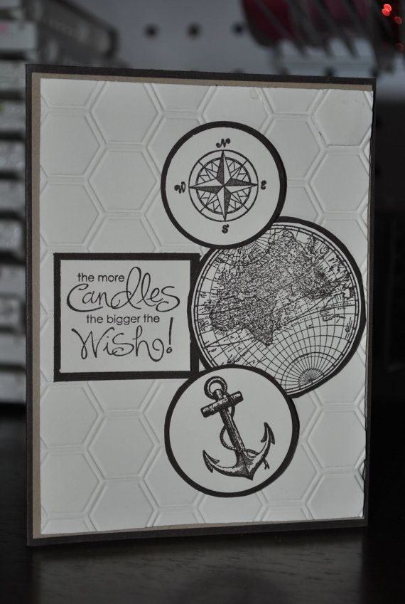 Stampin up Birthday Card ~ Dad, Brother, Friend, Masculine