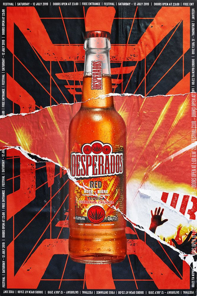 Desperados Iconic Party Poster Campaign Launches New Identity In 2020 Party Poster Beer Party Beer Brands