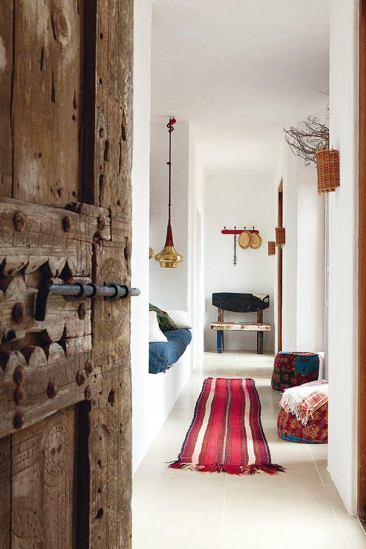 Un casa de campo de estilo bohemio en Ibiza | Decorar tu casa es facilisimo.com