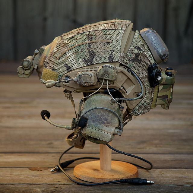 Nicely done Crye Airframe helmet