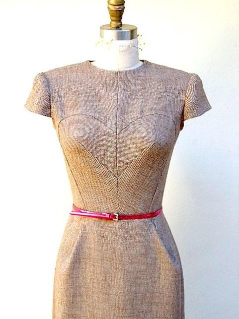 heart pencil dress