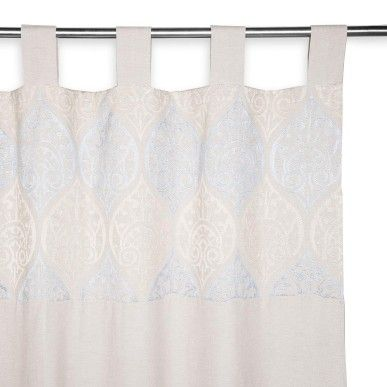 Chambray Tab Top Curtain: W.Collection | Woolworths.co.za