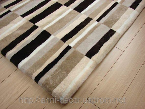 Ковер из овчины Хаос 2 - Kilim-Decor — салон эксклюзивных ковров в Днепропетровске