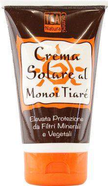 Crema Solare Alta Protezione al Tiareé