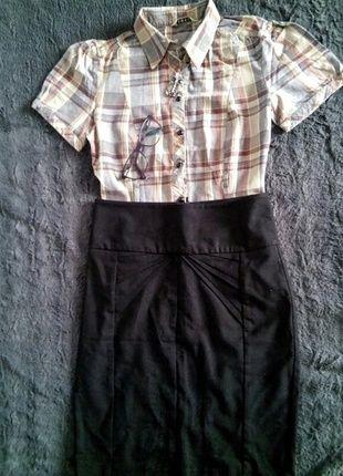 Kup mój przedmiot na #vintedpl http://www.vinted.pl/damska-odziez/koszule/13759293-bluzka-koszula-z-krotkim-rekawkiem-w-kratke-38-george