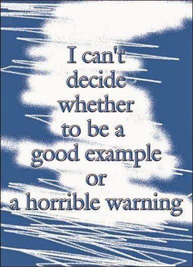 A GOOD warning??
