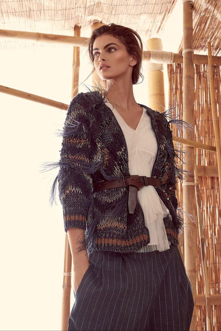 #Farbberatung #Stilberatung #Farbenreich mit www.farben-reich.com Brunello Cucinelli Spring 2018 Ready-to-Wear Fashion Show Collection