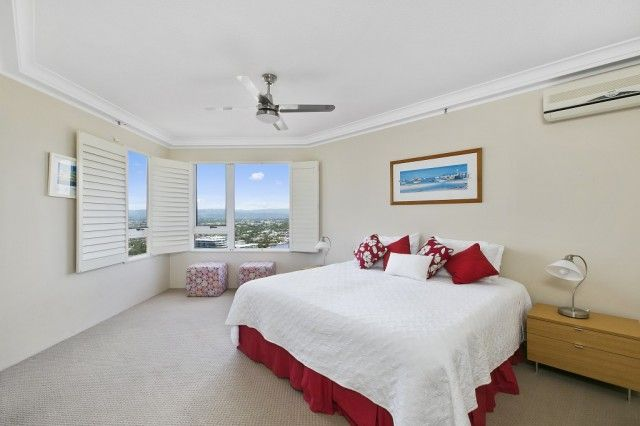 Bedroom with a view!  BROADBEACH apartment for Sale - Sun Realty Gold Coast