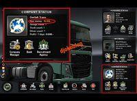Djokoblog: Cara Cheat Money Euro Truck Simulator 2 Menggunaka...