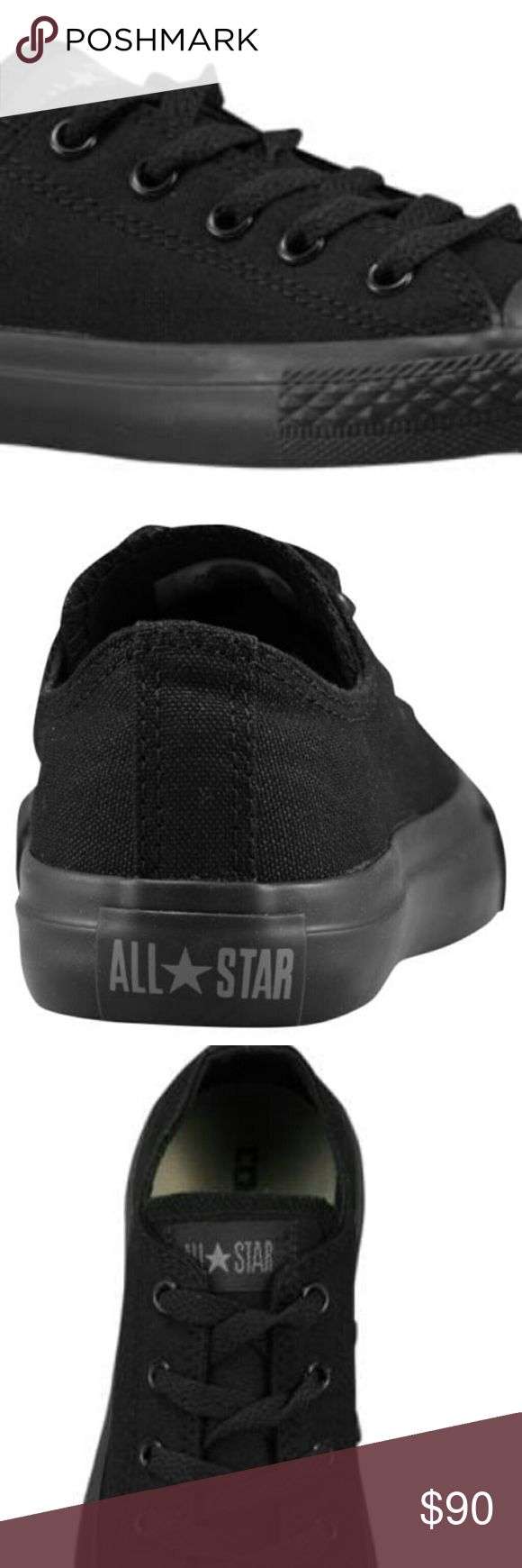 Black converse for men and women and kids Black converse for men women and kids Converse Shoes