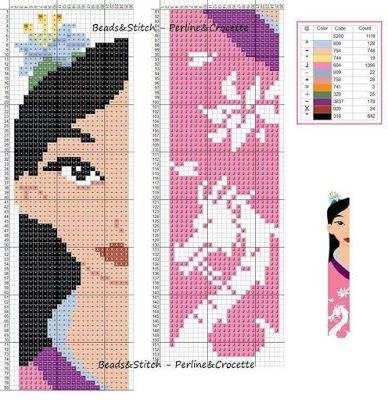 Mulan - Disney pattern