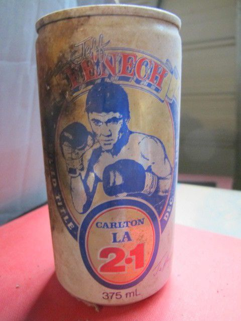 Jeff Fenech, Boxing - 1985 Carlton LA 2.1 Vintage 375mL Beer Can