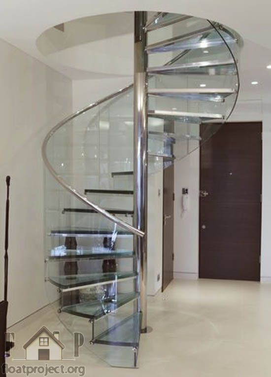 Best Spiral Glass Staircase Spiral Stairs Design Glass 640 x 480