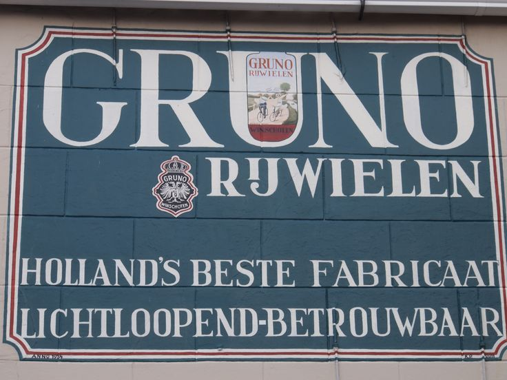 Gruno Rijwielen. Holland.