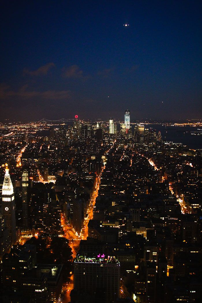 The Empire State Building Observatory is an iconic New York sight-seeing trip, and one you should definitely do. Buy tickets in advance and get there in time to watch the sunset.
