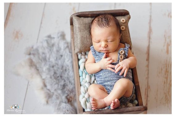 Newborn pillow by PITTAphotoprops on Etsy