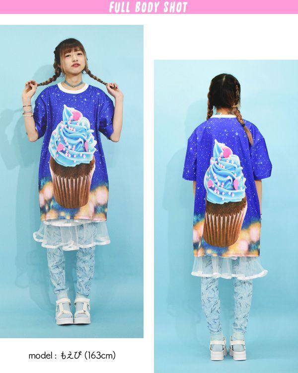 T Shirt / Long T / One Piece / T One Pie / T Shirt One Piece / Large Size / Men's / Women's / Kids / Harajuku System / Cute / Dance / Costume / Hip Hop / Fancy