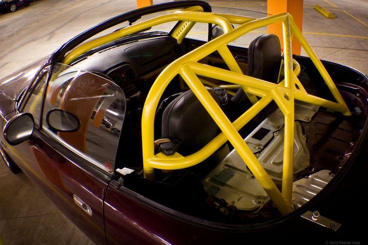 Mazda Miata Roll Cage Yellow Miata It S All About The