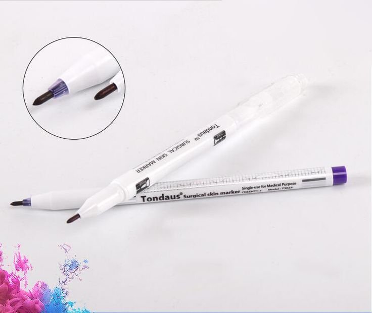 2pcs Professional Tattooing Eyebrow Design Surgica…