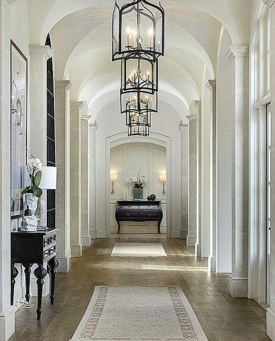 Victorian Hallway On Pinterest: #luxury #foyer #hallway