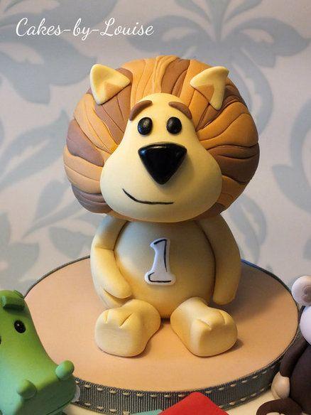 Raa Raa The Noisy Lion Cake Figures