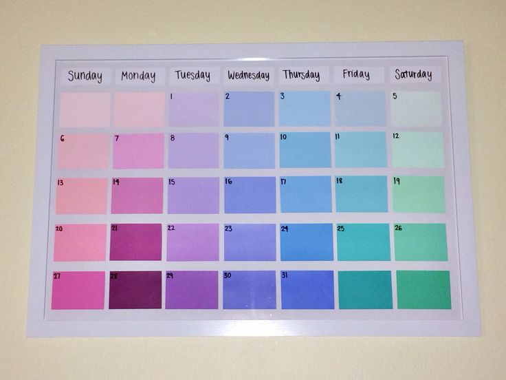 Diy Ombre Calendar : Best images about diy on pinterest dance studio high