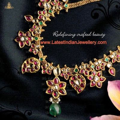 Burmese Rubies Traditional Necklace
