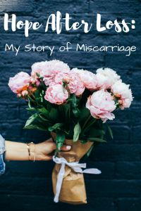 One in four women experience a miscarriage in their lifetime. To me, this is no longer just some statistic. I am the one in four, and here is my story.