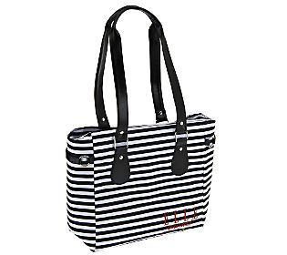 Elle Dual Compartment Insulated Lunch Tote w/Ice Pack #elle #bag #lunch #ellegourmet #insulatedbag #ellelunchtote #elleinsulatedbag #baggingit #officelunch #lunchbag #lunchtote #fashionlunchtote #elleinsulatedbags