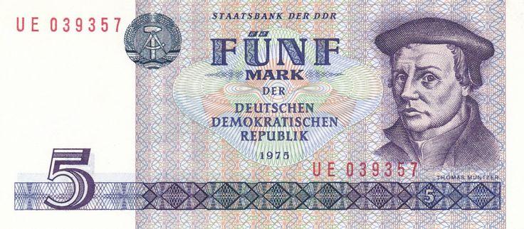 East Germany (DDR) 10 Deutsche Mark 1955 Papel moneda