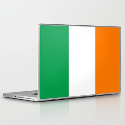 National flag of the Republic of Ireland - Authentic 3:5 Version Laptop & iPad Skin