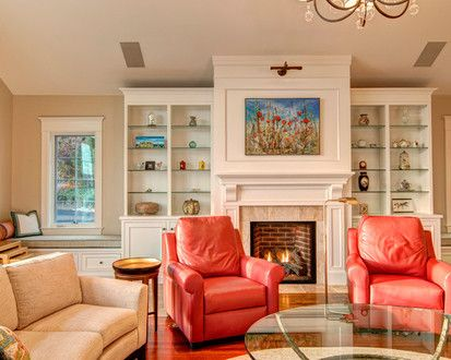 Lilly Farm   Renovation, Eclectic Family Room