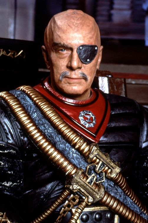 Christopher Plummer as General Chang from STAR TREK VI: THE UNDISCOVERED COUNTRY (1991).