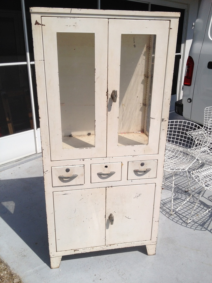 27 Best Images About Vintage Medical Cabinets On Pinterest