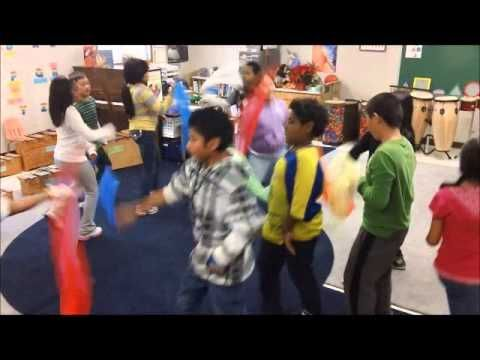 Nutcracker Chinese Dance Scarf Movement Activity - YouTube