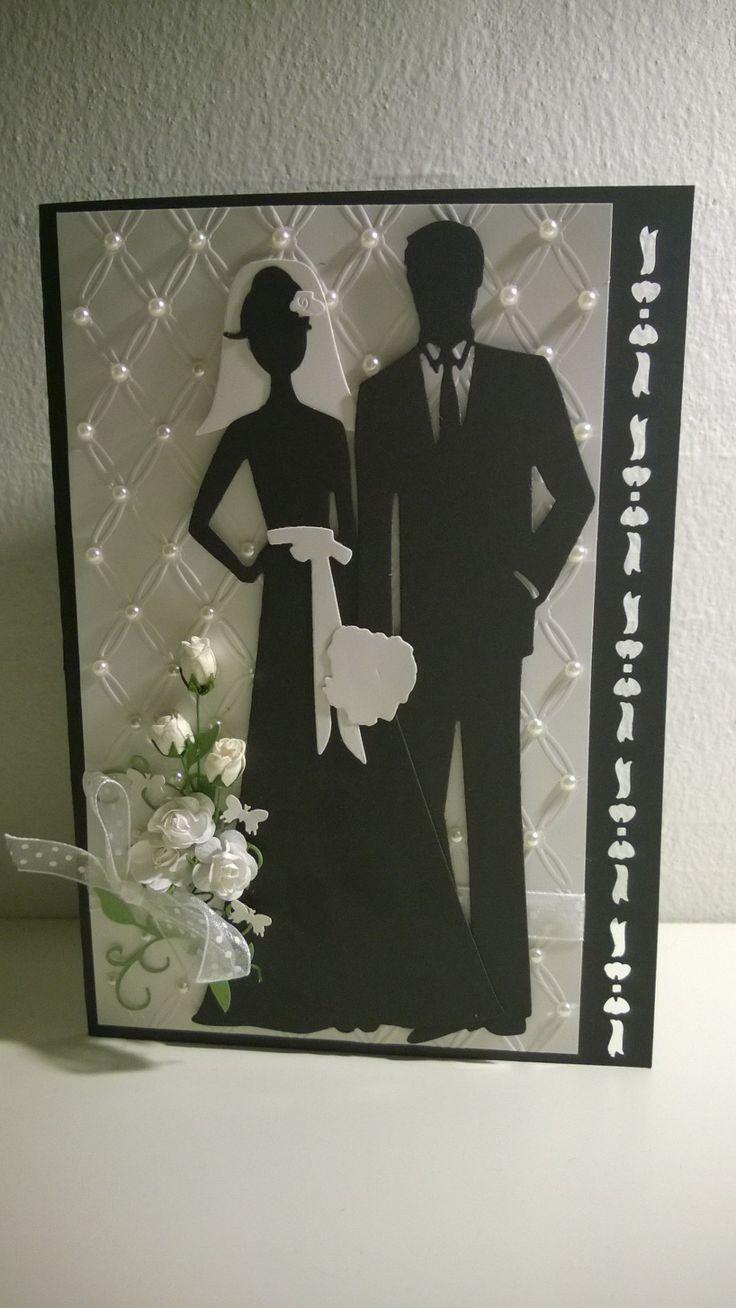 wedding card Leneskreativeside.blogspot.dk