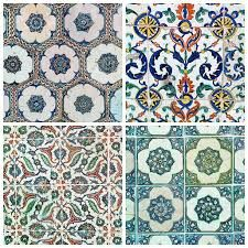 Traditional Turkish tiles - would look fab in a frame on the wall