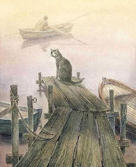 Gallery.ru / Фото #46 - Питерские коты Татьяны Родионовой и Владимира Румянцева - Toxan