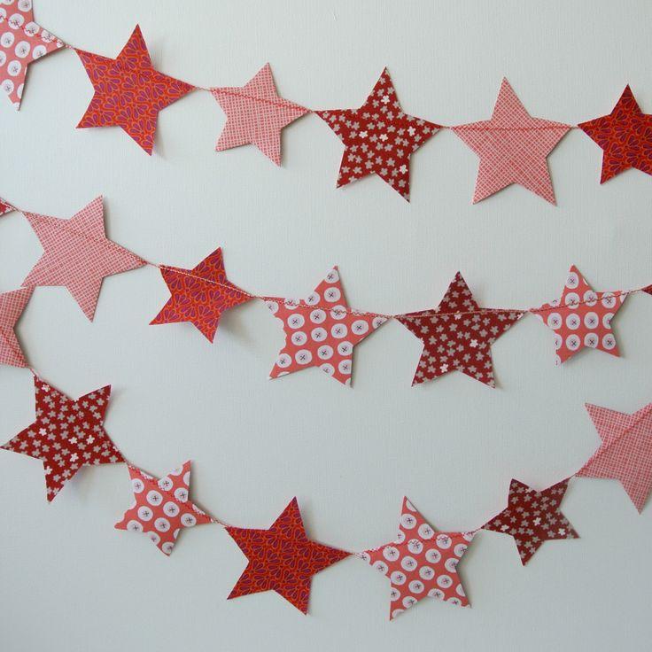 Fabric Star Garland DIY kit