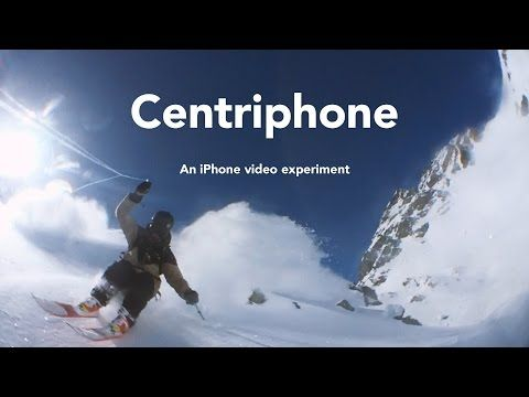 "Skier Swings An iPhone 6 Around His Head For A Matrix-like ""Bullet Time"" Effect 