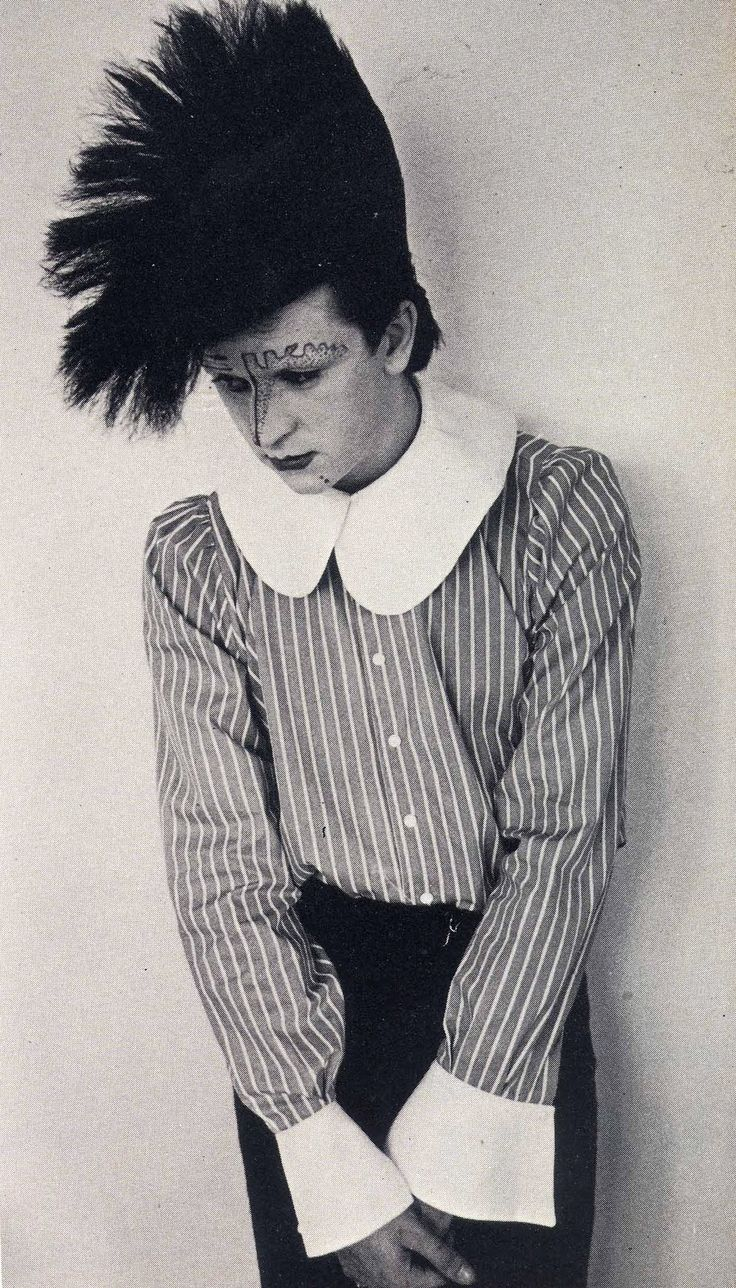 Steve Strange, central figure of the New Romantic Movement