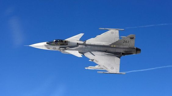 Royal Swedish Air Force Saab JAS 39 Gripen B.