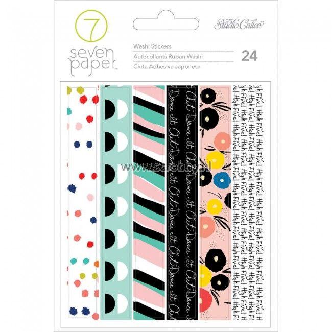Studio Calico Seven Paper Goldie Washi Tape Stickers