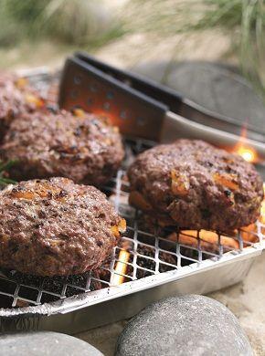 #WelshLamb & Apricot Burger. 204 kcal per serving.