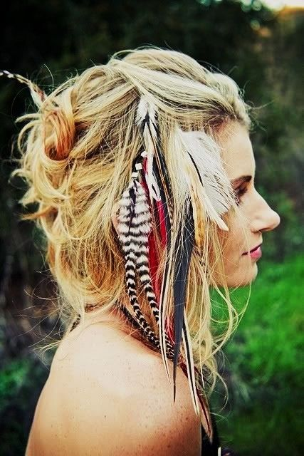 Feathers, used to have them in my hair, highly recommend them. #feathers