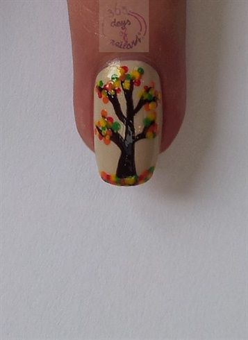 The Sparkle Queen: 35+ Fall, Autumn, and Halloween Nail Art Ideas {that aren't creepy}