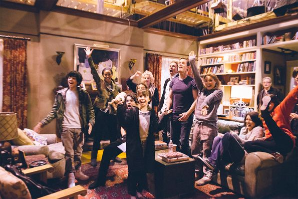 (Click for more) Behind the Scenes of 'Parenthood':  Mae Whitman and Miles Heizer narrate a day on the set