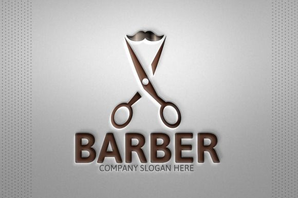 Barber Logo by josuf on Creative Market